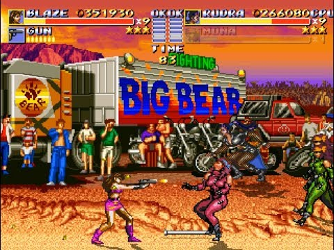 Streets of Rage Remake Bad Girls (PC) Everything is Soooo Bad