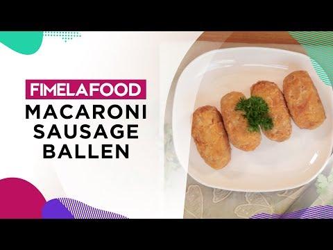 Fimela Food: Resep Buka Puasa Yummy Macaroni Sausage Ballen