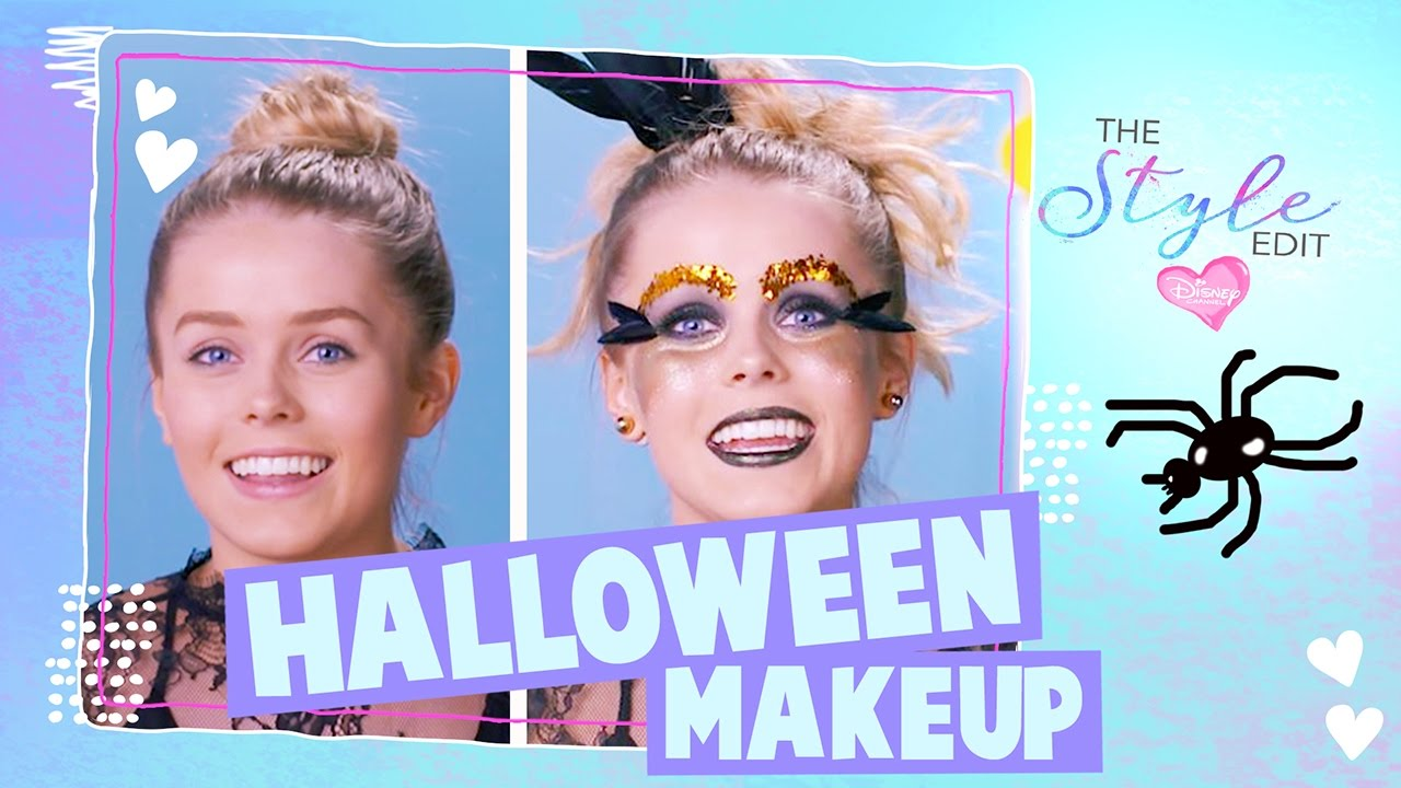The Style Edit | Halloween Makeup Tutorial | Disney Channel