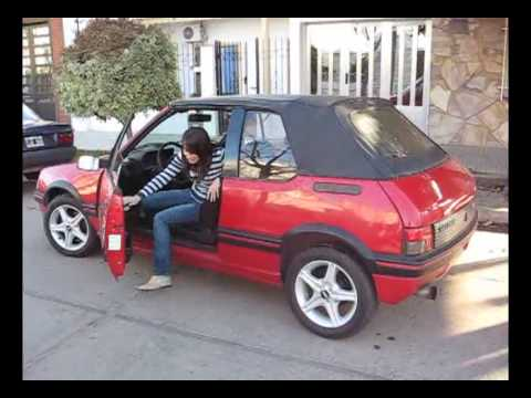 peugeot 205 cti pininfarina girlfriend youtube. Black Bedroom Furniture Sets. Home Design Ideas