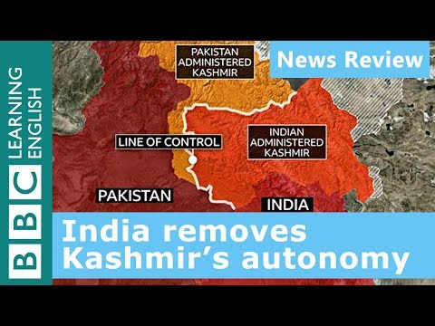 India removes Kashmir's