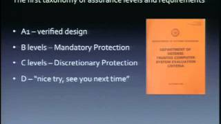 "DEFCON 20: Creating an A1 Security Kernel in the 1980s (Using ""Stone Knives and Bear Skins"")"