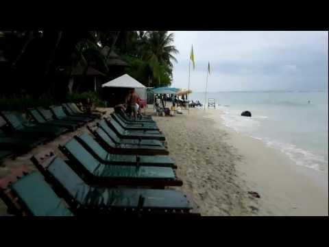Baan Chaweng Beach Resort Strand und Pool auf Koh Samui