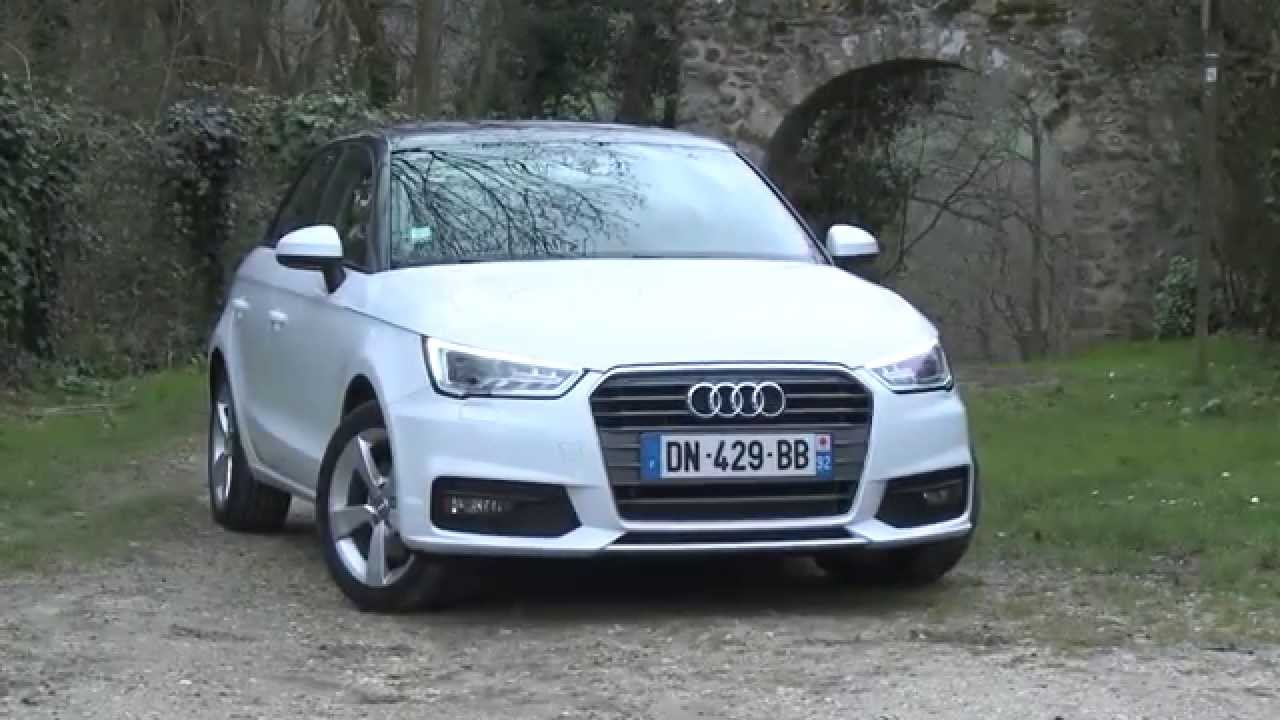 essai audi a1 sportback 1 6 tdi 116ch s tronic 7 youtube. Black Bedroom Furniture Sets. Home Design Ideas