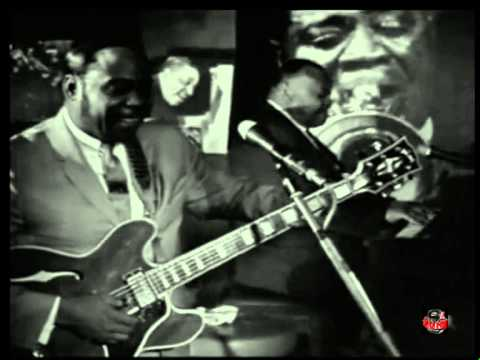 Eddie Taylor with the Aces -  France 1970 (Live video)