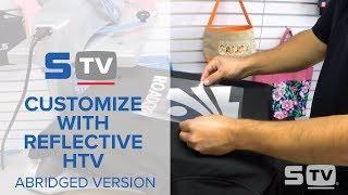 How to Custom Print Reflective HTV - Abridged Version