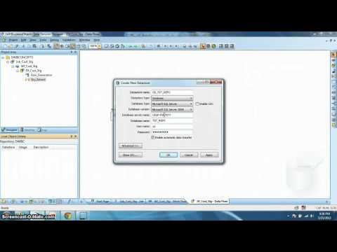 BODS Tutorial 001: Creating Data Services Batch Job