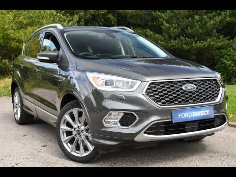 new ford kuga vignale 2018 first test drive doovi. Black Bedroom Furniture Sets. Home Design Ideas