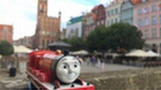 【trem de brinquedo】Thomas e Seus Amigos James @ Long Street, Gdańsk, Polônia - 00277 pt