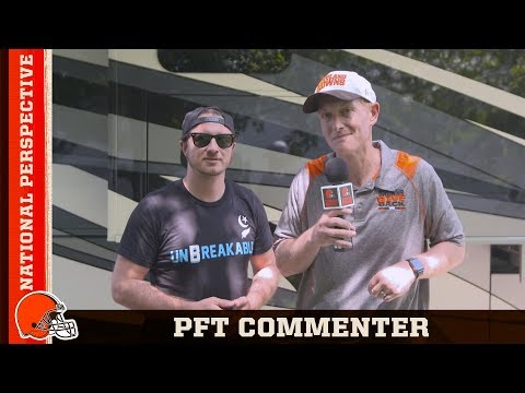 National Perspective with PFT Commenter from Pardon My Take | Cleveland Browns