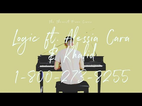 Logic ft. Alessia Cara & Khalid - 1-800-273-8255 | The Theorist Piano Cover