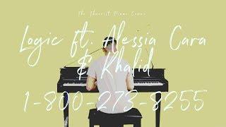 Logic ft. Alessia Cara & Khalid - 1-800-273-8255 | The Theorist Piano Cover