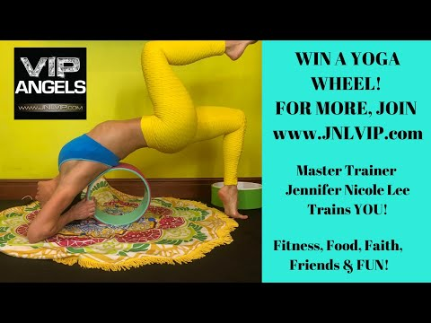 Win a yoga wheel from JENNIFER NICOLE LEE