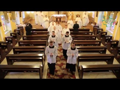 Dehonian seminarians receive the ministries of acolyte and lector