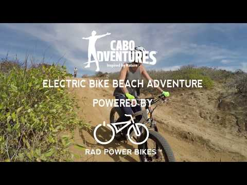 Electric Fat Bike Beach Adventure Powered by Rad Power Bikes and Cabo Adventures