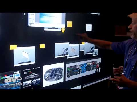 InfoComm 2015: Bluescape Demonstrates Visual Collaboration Wall