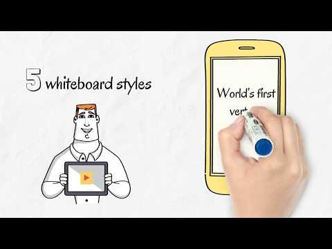 Animaker Whiteboard - Make 5 Styles of Whiteboard Animation Videos