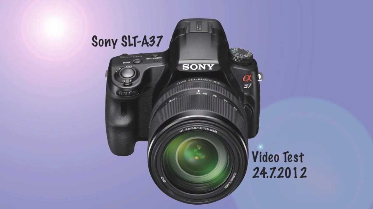 Sony SLT-A37 Review