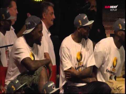 June 25, 2012 - 2012 Miami Heat Championship Parade & In-Arena Celebration (5of9)