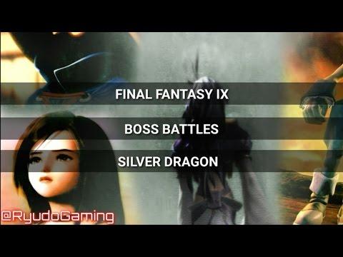 Final Fantasy IX : Silver Dragon Boss Battle HD