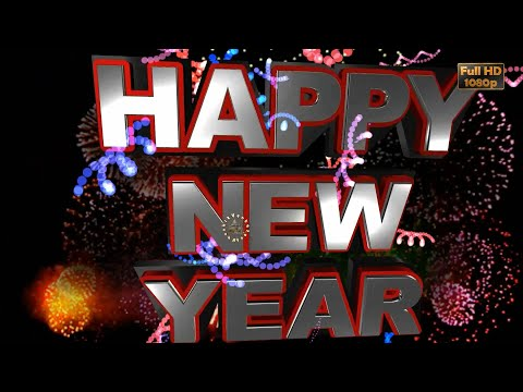 Greetings For Happy New Year, 2020 Video, Free Animated Ecards