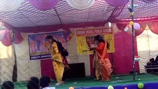 Haye dhola Tera mera nakhra || mother dance || unique model public school jawalmukhi