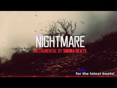 Nightmare Instrumental Dark Eminem Style Rap Beat Sinima Beats
