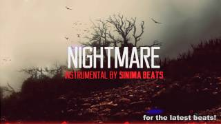 Nightmare Instrumental (Dark Eminem Style Rap Beat) Sinima Beats