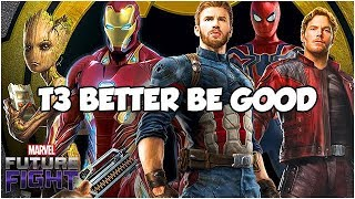 THEY *NEED* INFINITY (WAR) LOVE - Marvel Future Fight