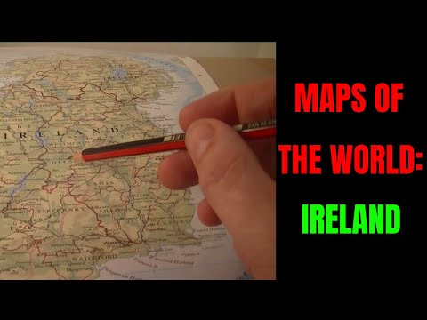 [ASMR] Maps of the World. Part 6: Ireland