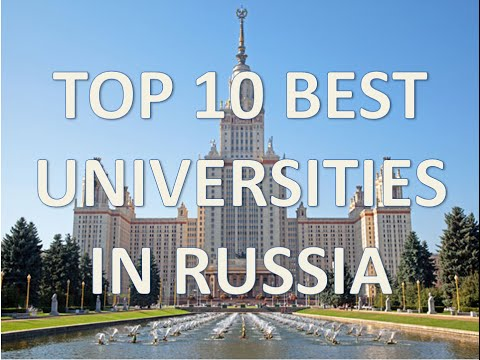 Top 10 Best Universities In Russia 2015/Top 10 Universidades