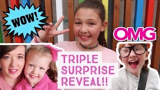 A TRIPLE MEGA SURPRISE FOR THE GIRLS!