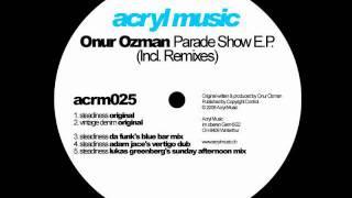 Onur Ozman-Steadiness (Adam Jace