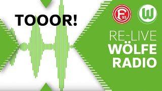 """""""SCHIESS ... UND TOOR!""""   Live Kommentar   Fortuna Düsseldorf - VfL Wolfsburg"""