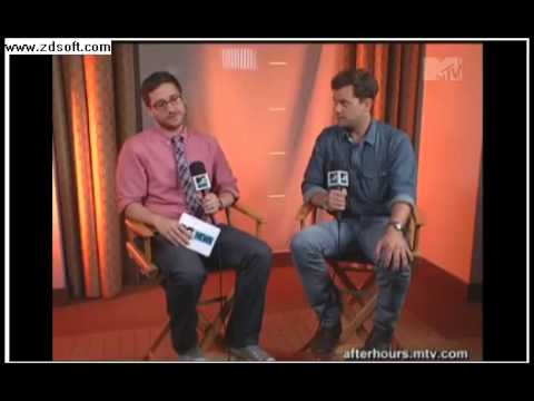 Joshua Jackson and a few other Actors at Comic-Con interview with MTV, Are they Geeks or posers?