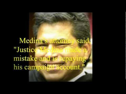 Justice David Medina - Why Texans Can't Trust Him