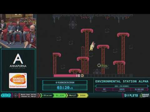 Environmental Station Alpha by R3DninjaJosh in 25:35 AGDQ 2018