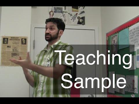 Teaching Sample: An Integrated Technology...