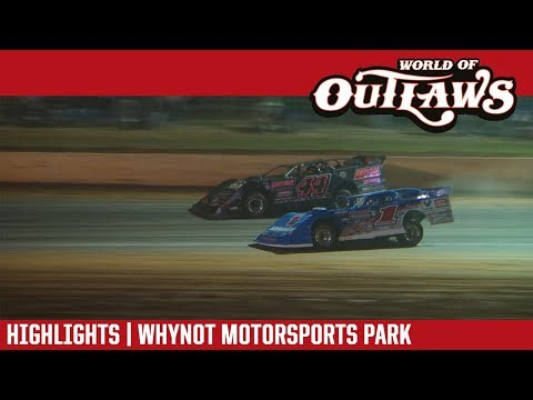 World of Outlaws Craftsman Late Models Whynot Motorsports Park April 20th, 2018 | HIGHLIGHTS