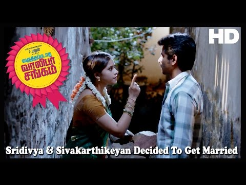 Varuthapadatha Valibar Sangam | Scenes | Sridivya & Sivakarthikeyan Decided To Get Married