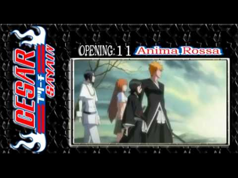 Bleach Opening 11 Anima Rossa