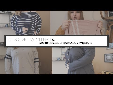PLUS SIZE TRY ON HAUL: MAURICES, ADDITIONELLE, http://bit.ly/2Xc4EMY