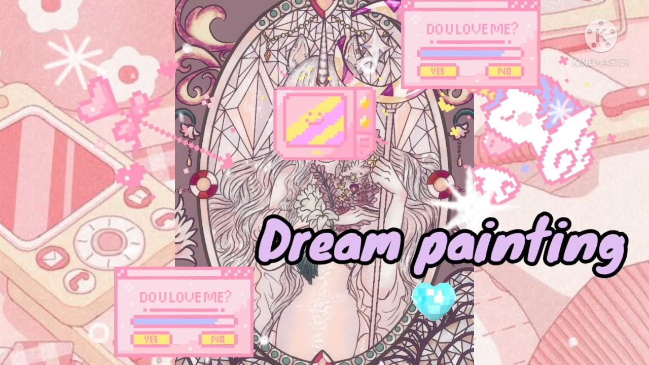 /Dream paiting/💜☂️