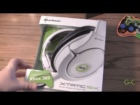 Sharkoon X-Tatic SX For Xbox 360 Headset Unboxing From Compuexpert
