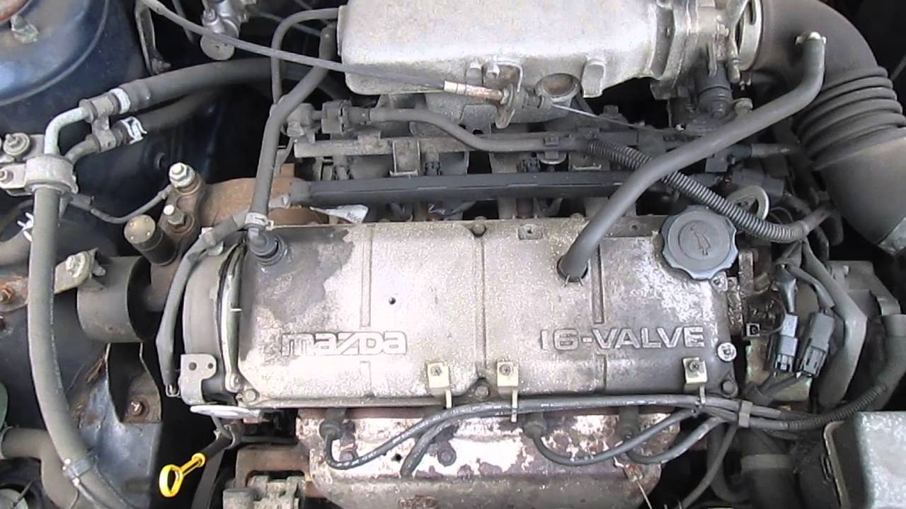 motor mazda 323f