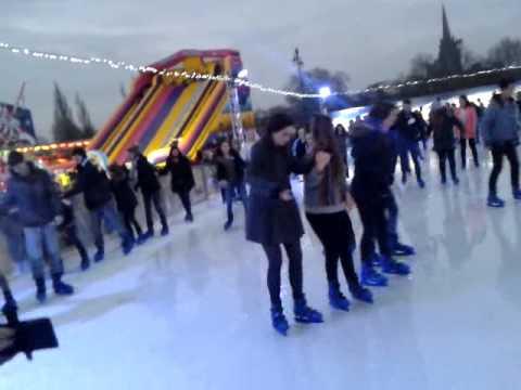 Cambridge Ice Skating 22/11/2014