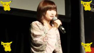 大谷育江 ピカチュウの声 2011♥  Ikue Otani Doing Pikachu Live in Australia