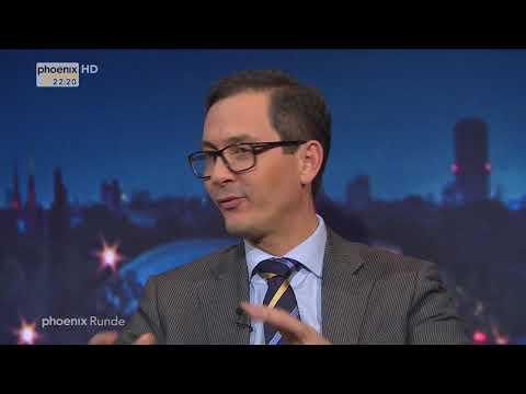 """phoenix Runde: """"Kurz gegen Macron – Gratwanderung für Merkel"""" vom 19.10.17"""