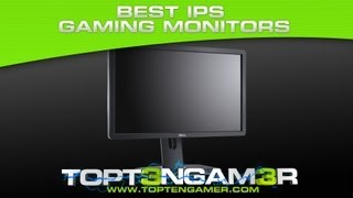 best ips gaming monitors with low response time input lag