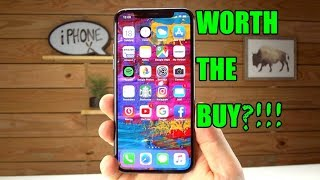 iPhone X Review - Is It Worth The Buy?!